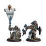 Precursor Knights Officer & Standard Bearer