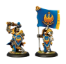 Sword Knight Officer & Standard Bearer
