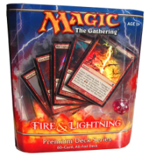 Fire & Lightning Premium Deck Series
