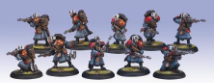 Khador Winterguard Rifle Corps