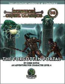 Dungeon Crawl Classics #58 - The Forgotten Portal