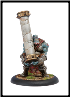 Trollblood Kriel Warrior Caber Thrower